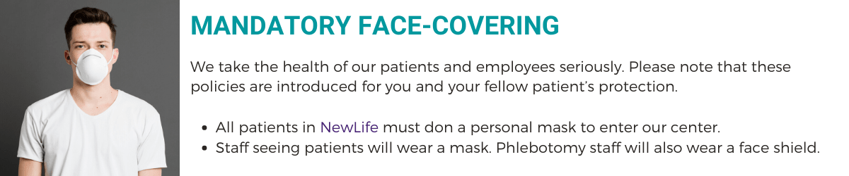 Mandatory Face Coverings at Newlife Fertility Centre