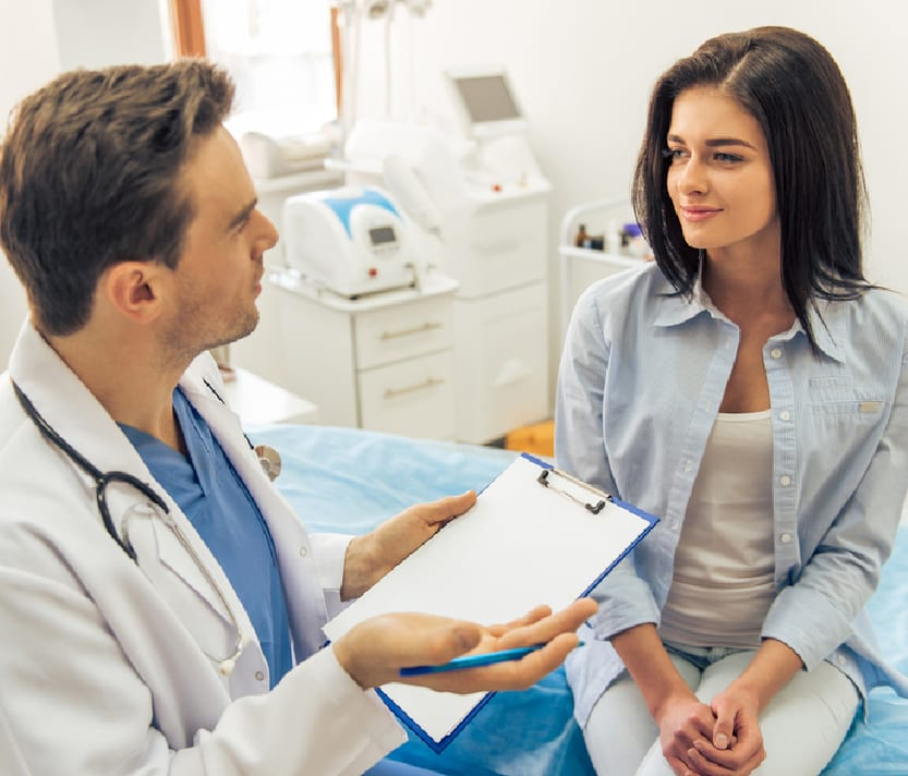 Doctor Patient Fertility Counselling
